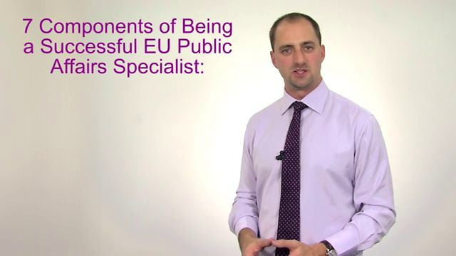 7 Components of Being a Successful EU Lobbyist