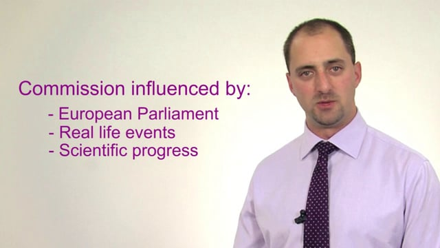What influences the European Commission